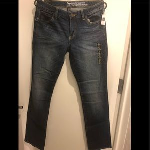 NWT Gap Curvy Straight Fit Coupe Droite Profilee